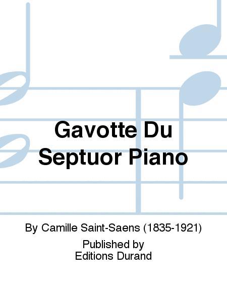 Gavotte Du Septuor Piano