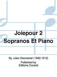 Joiepour 2 Sopranos Et Piano