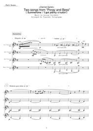 <Clarinet Qartet> Two songs from