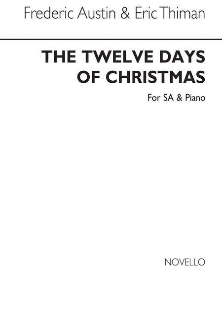Twelve Days Of Christmas for SA with Piano