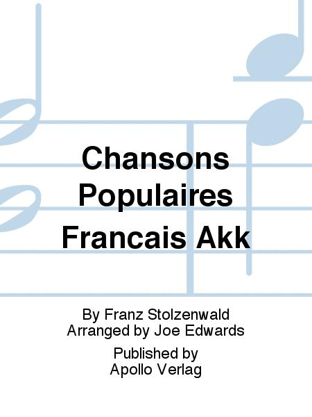 Chansons Populaires Francais Akk