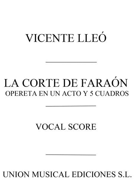 Vicente Lleo Balbastre: La Corte De Faraon