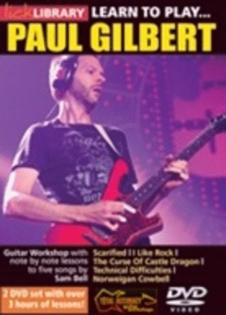 Learn To Play Paul Gilbert (2 DVD Set)