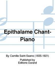 Epithalame Chant-Piano