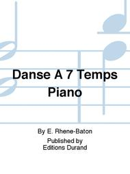 Danse A 7 Temps Piano