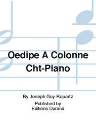 Oedipe A Colonne Cht-Piano