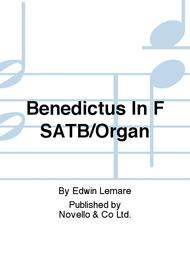 Benedictus In F SATB/Organ