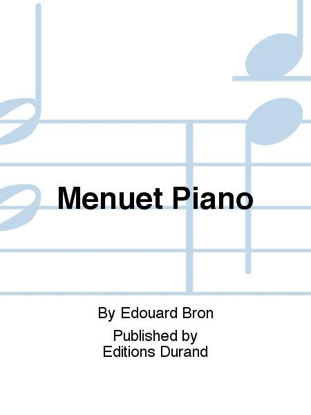 Menuet Piano