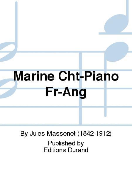 Marine Cht-Piano Fr-Ang