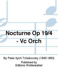 Nocturne Op 19/4 - Vc Orch