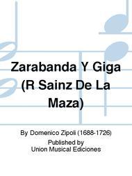 Zarabanda Y Giga (R Sainz De La Maza)