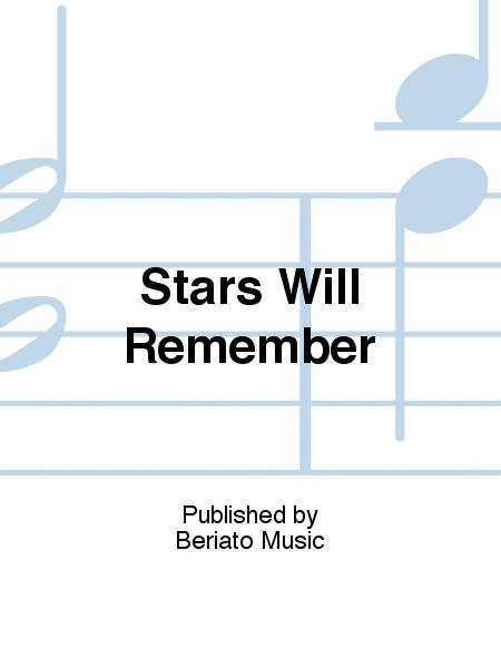 Stars Will Remember