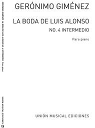 Gimenez: La Boda De Luis Alonso No. 4
