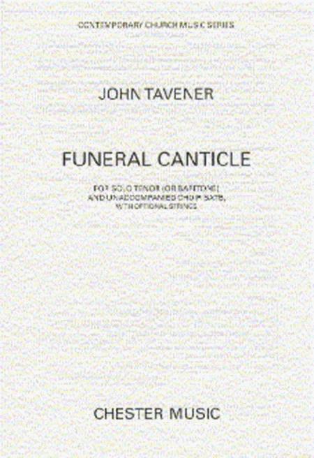 Funeral Canticle  SATB John Tavener Choral Score MUSCH61317