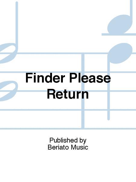 Finder Please Return