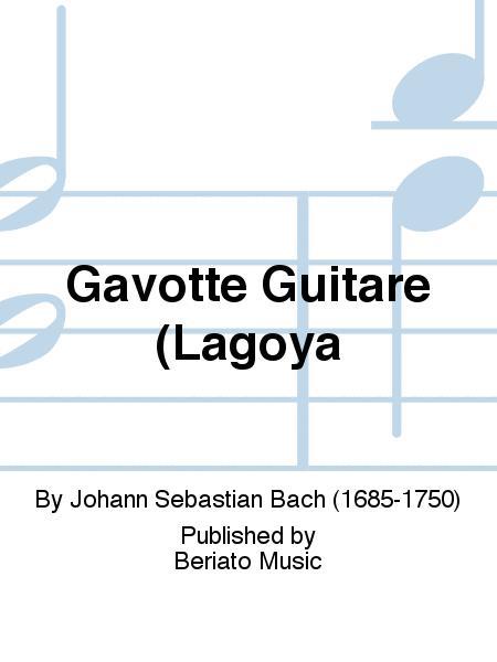 Gavotte Guitare (Lagoya