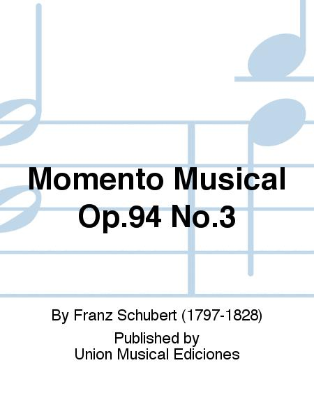 Momento Musical Op.94 No.3