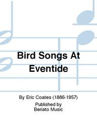 Bird Songs At Eventide