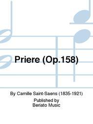 Priere (Op.158)