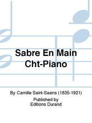 Sabre En Main Cht-Piano