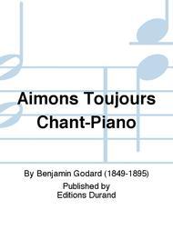 Aimons Toujours Chant-Piano