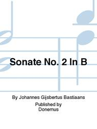 Sonate No. 2 In B