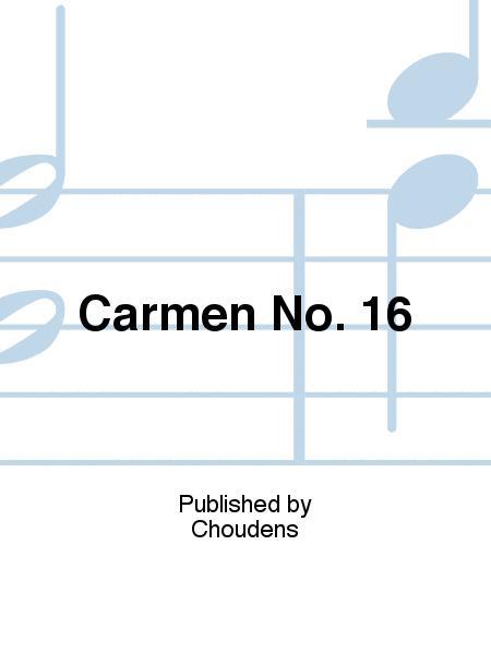Carmen No. 16