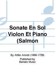 Sonate En Sol Violon Et Piano (Salmon