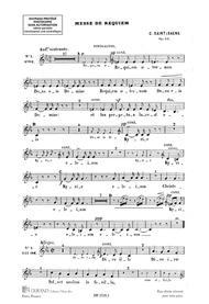 Messe De Requiem Choeurs Contraltos