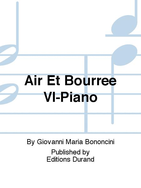 Air Et Bourree Vl-Piano