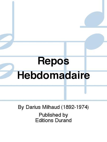 Repos Hebdomadaire