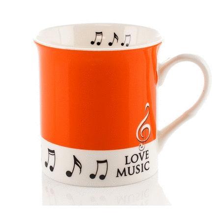Little Snoring: Colour Block Mug - Orange