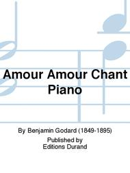 Amour Amour Chant Piano