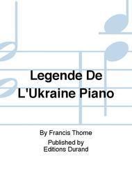 Legende De L'Ukraine Piano