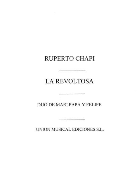 Duo De Mari Pepa Y Felipe No.4 (La Revoltosa)