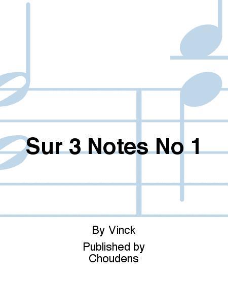 Sur 3 Notes No 1