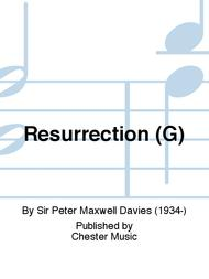 Resurrection (G)