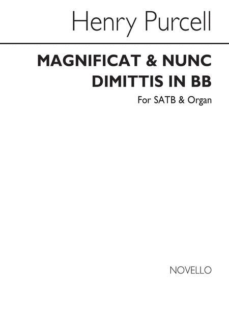 Magnificat & Nunc Dimittis In B Flat
