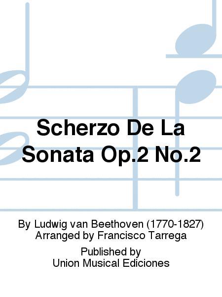 Scherzo De La Sonata Op.2 No.2