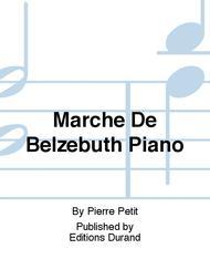 Marche De Belzebuth Piano