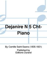 Dejanire N 5 Cht-Piano