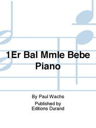 1Er Bal Mmle Bebe Piano