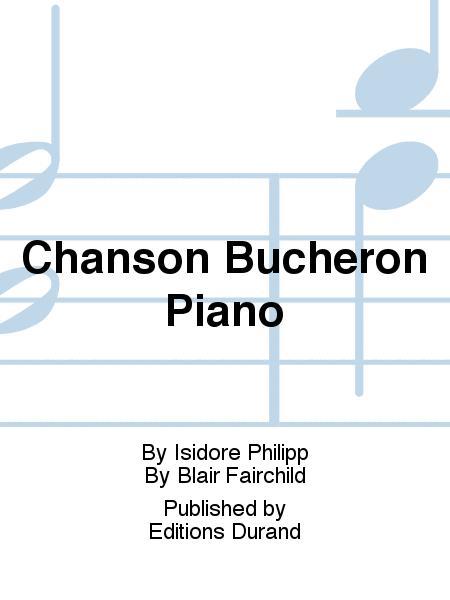 Chanson Bucheron Piano