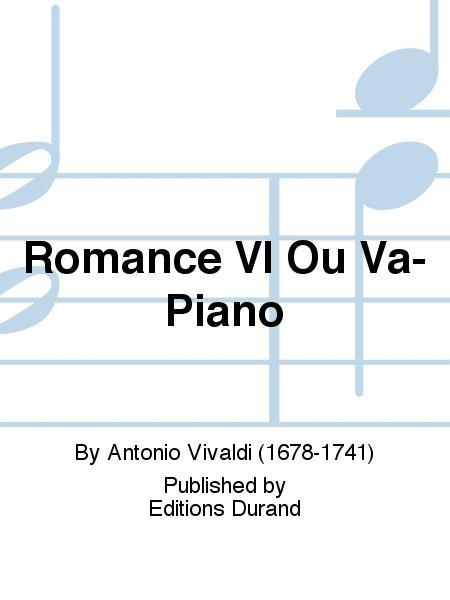 Romance Vl Ou Va-Piano