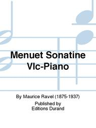 Menuet Sonatine Vlc-Piano