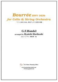 Bourrée  in C major for Cello & String Orchestra