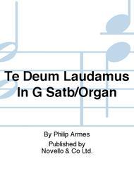Te Deum Laudamus In G