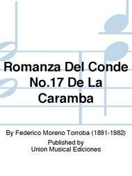 Romanza Del Conde No.17 De La Caramba