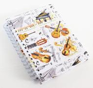 A6 Spiral Bound Lined Pages Notebook