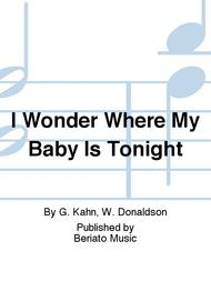 I Wonder Where My Baby Is Tonight